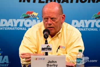 NASCAR press conference: NASCAR Sprint Cup Series Director John Darby