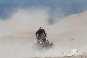 Dakar 2012: #252 Yamaha: Marcos Patronelli