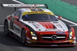 #3 Abu Dhabi Black Falcon Mercedes SLS AMG GT3: Khaled Al Qubaisi, Sean Edwards, Jeroen Bleekemolen, Thomas Jger