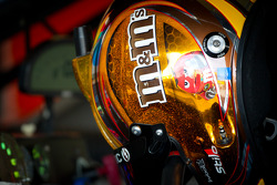 Helmet of Kyle Busch, Joe Gibbs Racing Toyota