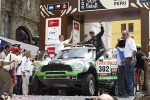 Podium: first place in Car category Stphane Peterhansel