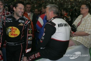 Tony Stewart and Sammy Swindell