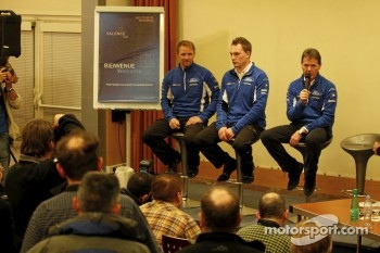 Jari-Matti Latvala, Petter Solberg and Malcolm Wilson, Ford World Rally Team