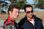 Ryan Briscoe and Helio Castroneves, Team Penske