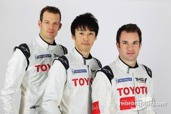 Alexander Wurz, Kazuki Nakajima, Nicolas Lapierre