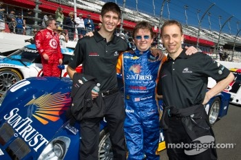Daytona 24 Heritage cars photoshoot: Ricky Taylor, Wayne Taylor and Max Angelelli