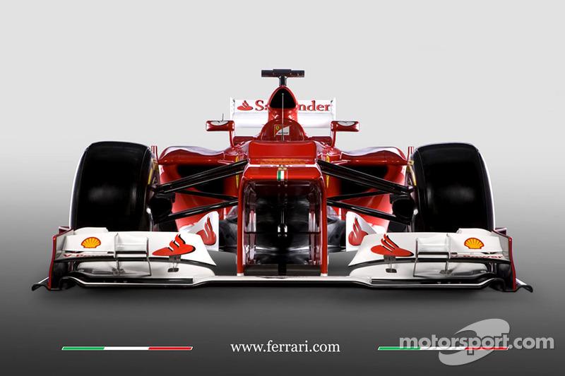 The new Ferrari F2012