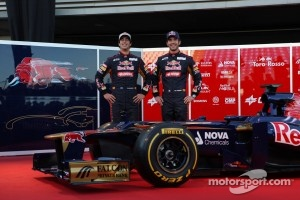 Daniel Ricciardo, Scuderia Toro Rosso and Jean-Eric Vergne, Scuderia Toro Rosso