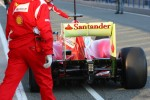 Felipe Massa, Scuderia Ferrari rear wing