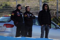 Franz Tost, Scuderia Toro Rosso, Team Principal and Jean-Eric Vergne, Scuderia Toro Rosso