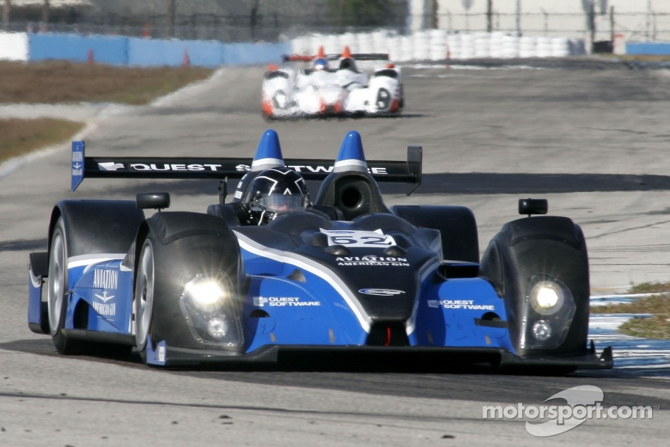 #52 PR1 Mathiasen Motorsports Oreca FLM09: Rudy Junco, Butch Leitzinger