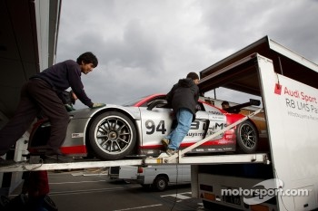 The Hitotsuyama Racing Audi R8 LMS Super GT car