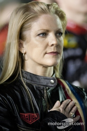 Kurt Busch's girlfriend Patricia Driscoll
