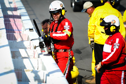 Repair after the crash of Danica Patrick, Stewart-Haas Racing Chevrolet