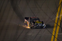 Bryan Silas, T.3.R Motorsports Ford crashes