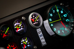 Instrument panel on the car of Mark Martin, Michael Waltrip Racing Toyota