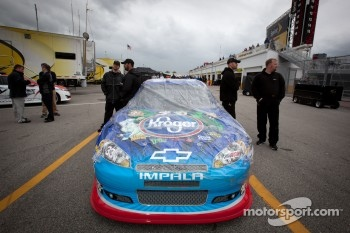 Car of Elliott Sadler, Richard Childress Racing Chevrolet