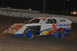 Ken Schrader in action