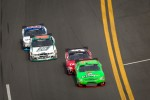Danica Patrick, JR Motorsports Chevrolet leads Dale Earnhardt Jr., JR Motorsports Chevrolet