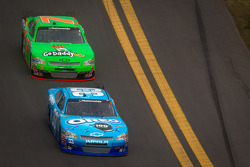 Tony Stewart, Richard Childress Racing Chevrolet and Danica Patrick, JR Motorsports Chevrolet