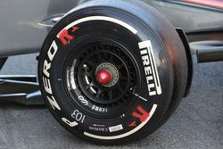 McLaren front wheel rim