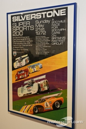 Period Can-Am poster from 1972