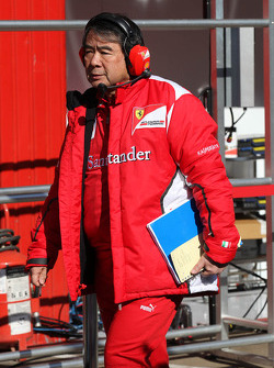 Hirohide Hamashima, Scuderia Ferrari