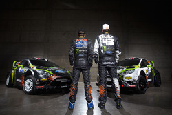 Chris Atkinson and Ken Block