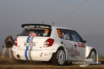 Sbastien Ogier and Julien Ingrassia, Skoda Fabia S2000, Volkswagen Motorsport