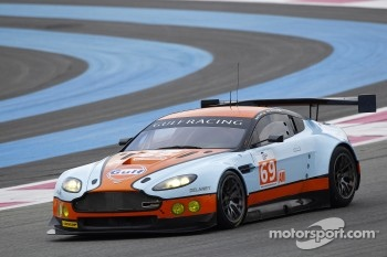 #69 Gulf Racing Aston Martin Vantage: Roald Goethe, Stuart Hall