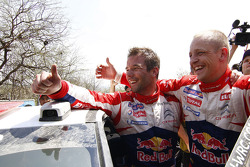 Winner Sébastien Loeb and Mikko Hirvonen, Citroën Total World Rally Team