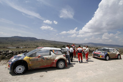 The Citroën boys finish leg three