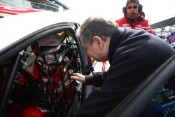 Gabriele Tarquini, SEAT Leon WTCC, Lukoil Racing Team and Jean Todt, President FIA