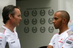 Sam Michael, McLaren and Lewis Hamilton, McLaren Mercedes