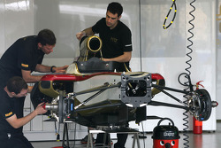 HRT Formula One Team mechanics