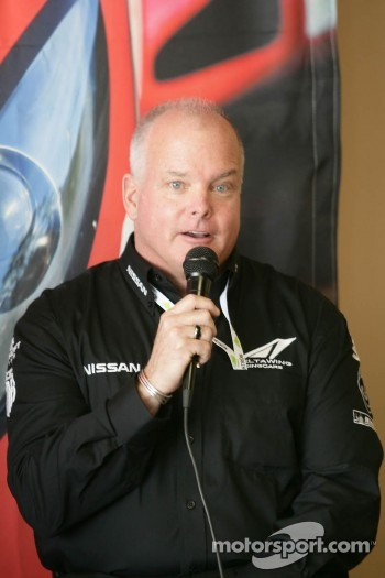 Duncan Dayton talks about the DeltaWing Nissan
