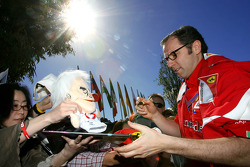 Stefano Domenicali, Scuderia Ferrari Sporting Director