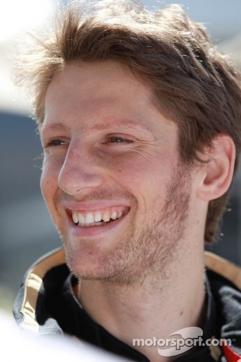 Romain Grosjean, Lotus Renault F1 Team
