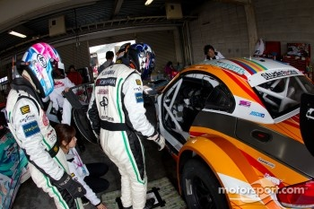 #4 GSR&Studie with Team Ukyo BMW Z4 GT3: Taku Banba, Masahiro Sasaki