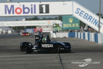 Dario Franchitti drives the DeltaWing