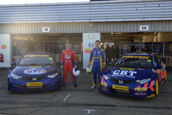 Pirtek Racing Duo Andrew Jordan and Jeff Smith