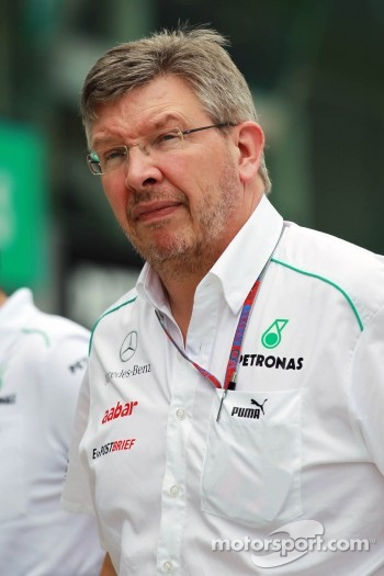 Ross Brawn, Mercedes GP Team Principal