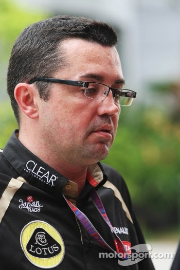 Eric Boullier, Lotus F1 Team Principal