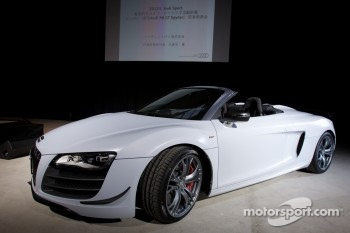 The new Audi R8 GT Spyder