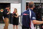 Ted Kravitz, Sky Sports Pitlane Reporter and Georgie Thompson, Sky Sports F1 Presenter