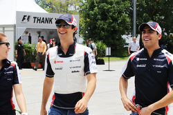 Bruno Senna, Williams with Pastor Maldonado, Williams