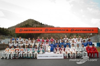 GT300 drivers group photoshoot