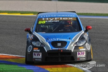 Fernando Monje, SEAT Leon WTCC, SUNRED Engineering