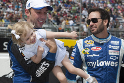 Chad Knaus and Jimmie Johnson, Hendricks Motorsports Chevrolet