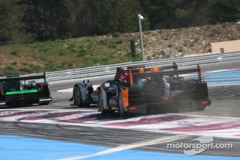 #17 Status GP Lola B12/80 Coupe - Judd HK: Yelmer Buurman, Alexander Sims, Dean Stirling, #45 Boutsen Ginion Racing Oreca 03 - Nissan: Jack Clarke, Bastien Brire, Sbastien Buemi